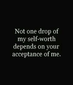 Amen! <3 This is good to remember in reverse as well. Our opinion of someone else does not define who they are or how much they are worth.