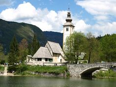 Bohinj, Julian Alps in Triglav National Park, Slovenia