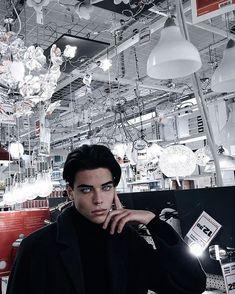 Italian model and YouTube sensation Luca Fersko
