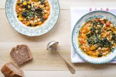 How To Make An Early Spring Soupe Au Pistou {French Vegetable Soup With Basil Paste} - Whole Lifestyle Nutrition