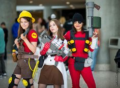 Team Fortress #Cosplay | Anime Expo 2013 Day 1                              …