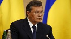 Viktor Yanukovych holds news conference in Russia