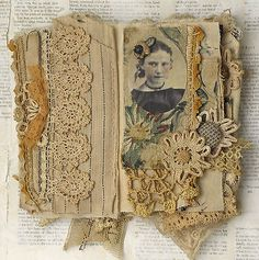 MIXED-MEDIA-FABRIC-COLLAGE-BOOK-OF-LITTLE-WITCHES