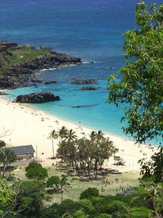 Waimea Beach Park located on the North Shore