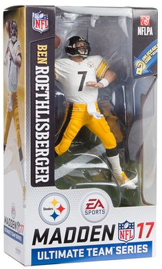 615a2e62d Ben Roethlisberger (Pittsburgh Steelers) Madden NFL 17 Series 2 McFarlane   sports  actionfigures