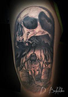 Tatuaje de calavera  realizado en nuestro centro de Montera de Madrid.    #tattoo #tattoos #tattooed #tattooing #tattooist #tattooart #tattooshop #tattoolife #tattooartist #tattoodesign #tattooedgirls #tattoosketch #tattooideas #tattoooftheday #tattooer #tattoogirl #tattooink #tattoolove #tattootime #tattooflash #tattooedgirl #tattooedmen #tattooaddict#tattoostudio #tattoolover #tattoolovers #tattooedwomen#tattooedlife #tattoostyle #tatuajes #tatuajesmadrid #ink #inktober #inktattoo