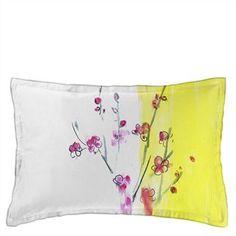 Oriental Flower Peony Oxford Pillowcase