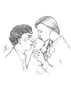 sherlolly fan art | just came to say hello
