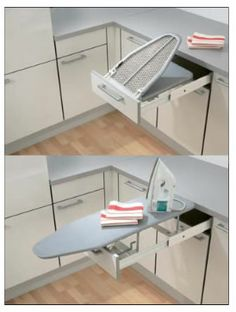 Pull OUT Slide OUT Ironing Board Home Office Pullout Slideout | eBay