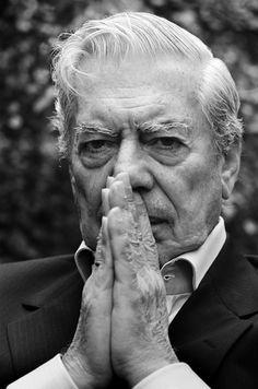 Mario Vargas Llosa (1936), Peruvian writer, politician, journalist, essayist, college professor, and recipient of the 2010 Nobel Prize in Literature. Photo © Heike Steinweg, 2007