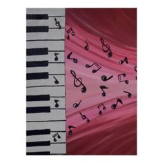 Playing the piano without having someone to teach you can be difficult. To learn the piano online can have its ups and downs. Diy Artwork, Music Artwork, Music Painting, Diy Painting, Music Drawings, Art Drawings, Abstract Canvas, Canvas Art, Painting Canvas