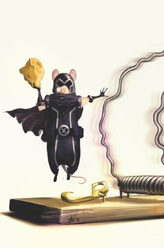 So awesome.  via @WIRED  Magneto as Mouse Master of Magnetism...  Take A Look at the All-New, All-Animal Marvel Universe