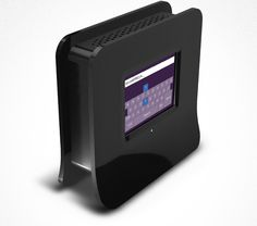 Almond: World's first wireless router with a touch screen.