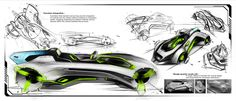Audi Elite Concept - Design Sketches