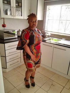 My African print dress by nomalwandle's creations
