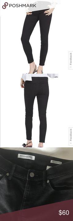 Bannana Republic Black Skinny Ankle Jeans Great condition skinny ankle jeans Banana Republic Jeans Skinny