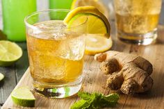 Sometimes it's just too early in the day for a cocktail. Try this citrusy drink with a ginger snap if you're craving something different but refreshing.