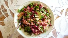 Sałatka z kiszonymi burakami  Salad with fermented beet