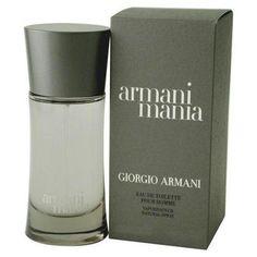 armani mania - men's cologne SMELLS great!