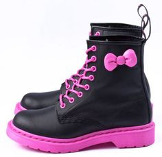 Hello Kitty Dr. Martens boots.....I love these so much it makes me want to cry!