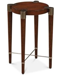 Bristoll Accent Table, Quick Ship - Brown