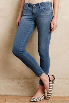 AG Legging Ankle Skinny Jeans Sunscreen Leggings #anthroregistry