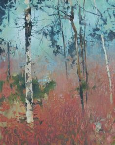 Fanno Creek February, painting by artist Randall David Tipton