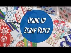 Using up Scrap Paper - DIY Christmas Gift Tags, Mini Bags and Stars - Ma'at Silk - YouTube