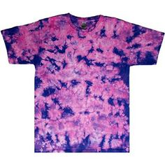 This terrific tie dye t-shirt is dyed in a lily crinkle pattern. The tee is available in adult regular and plus sizes. Tie Dye Shirts, Quality T Shirts, Tie Dyed, Crinkles, Lily, Plus Size, Purple, Tees, Pattern