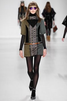 Cute, strong and quietly Custo. Love. Custo Barcelona Fall 2014 Ready-to-Wear Collection Slideshow on Style.com
