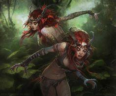 The Twins, Weeping Moon berserkers