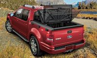 2010 Ford Explorer Sport Trac, Back Left Quarter View, exterior, manufacturer