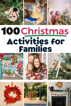 100 Christmas Activities for Families to enjoy this holiday season. These activities are a great way to make memories with your kids this Christmas. Christmas Stocking Fillers, Christmas Presents, Christmas Crafts, Christmas Decorations, Christmas Activities For Families, The 100, Seasons, Memories, Holiday