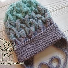 You will fall in love with this simple hat knit pattern from the first sight. Made in the national colors of Sweden it looks super stylish and elegant.
