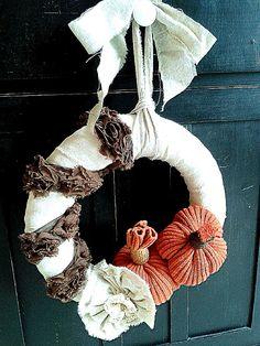 Shabby Fall Wreath | DIY beautify