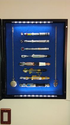 All Of The Doctors Sonic Screwdrivers | Sonic Screwdrivers - Imgur