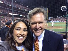 RICH LIEBERMAN 415 MEDIA: Hey, Here's KTVU's Gasia Mikaelian and Frank Somer...