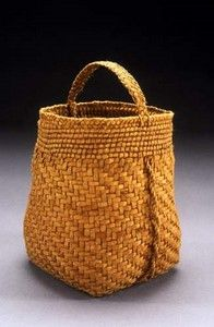Willow bark basket by Jennifer Heller Zurick.
