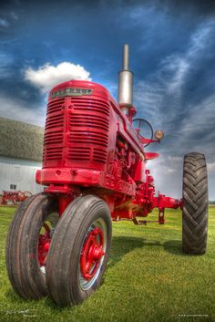 Farmall Tractor HDR ©Eric Smoldt 2013. For additional information or to see more photos please visit www.ericsmoldt.com or https://www.facebook.com/ericsmoldtphotography