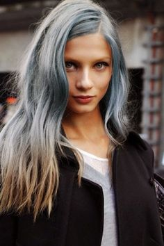 two-tone-silver-hair-color-2016.jpg (466×700)