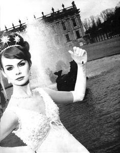 Jean Shrimpton, 1965. I wonder if these have been photoshopped (older photos) or if these women truly are simply stunning.