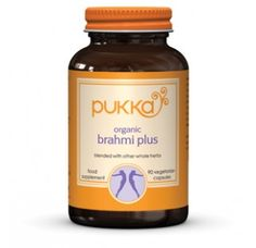Brahmi Plus food supplement - Pukka Herbs incredible organic herbs