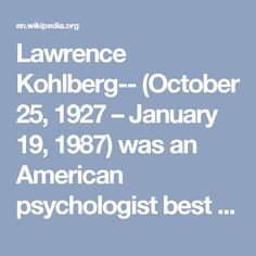 1000 ideas about lawrence kohlberg on pinterest about for Moral development 0 19 years chart