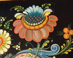 Photos of Hindeloopen Art | Paintings - Folk Art Flowers