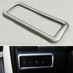 Car Styling ABS Interior Fog Lamp Light Switch Button Panel Cover Bezel Frame Trim Sticker Fit For Suzuki Vitara 2016 Accessory #Affiliate