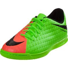 detailed look 411db 1dfd7 Nike Kids Jr HypervenomX Phade III IC Indoor Soccer Shoe