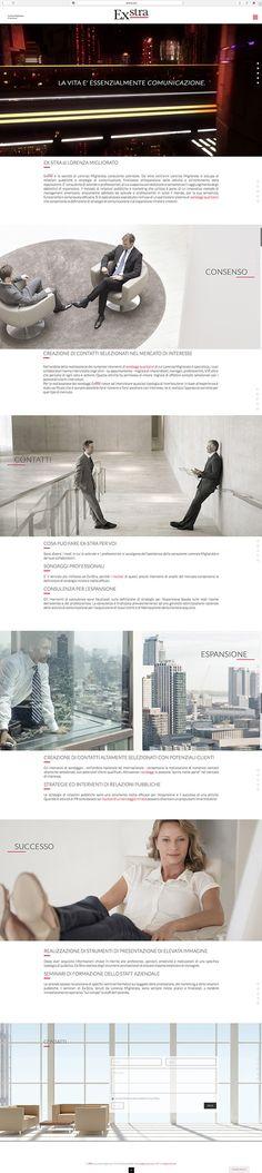ex-stra.com  Realizzazione web site