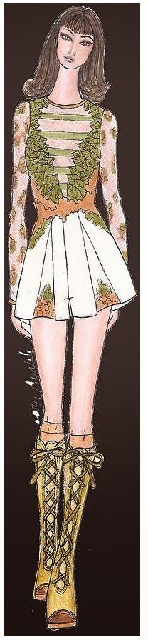 Auriele (desenhos de Moda): PROJETO DE COLEÇÃO