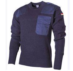MFH BW Pullover, blau / mehr Infos auf: www.Guntia-Militaria-Shop.de