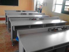 Phòng học bộ môn Trường THCS Thượng Ninh - Như Xuân - Thanh Hóa - Công ty sản xuất thiết bị giáo dục Sông Việt